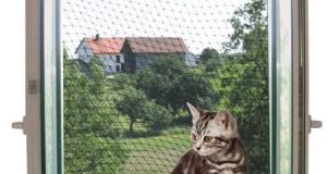 Katzennetz- Schutz vor dem Absturz der Katze