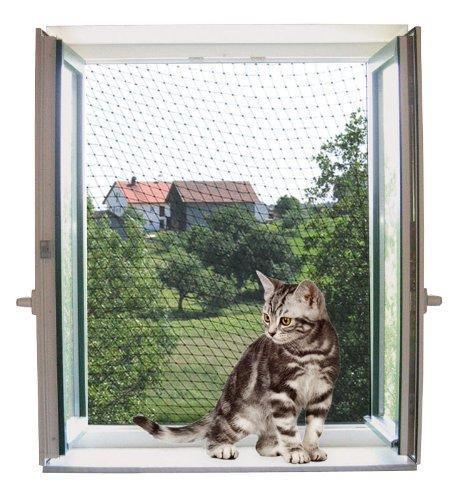 katzennetz schutz vor dem absturz der katze. Black Bedroom Furniture Sets. Home Design Ideas