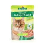 Dehner Katzenfutter Ragout Adult Geflügel und Wild