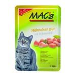 MAC's Katzenfutter Hühnchen pur 100g